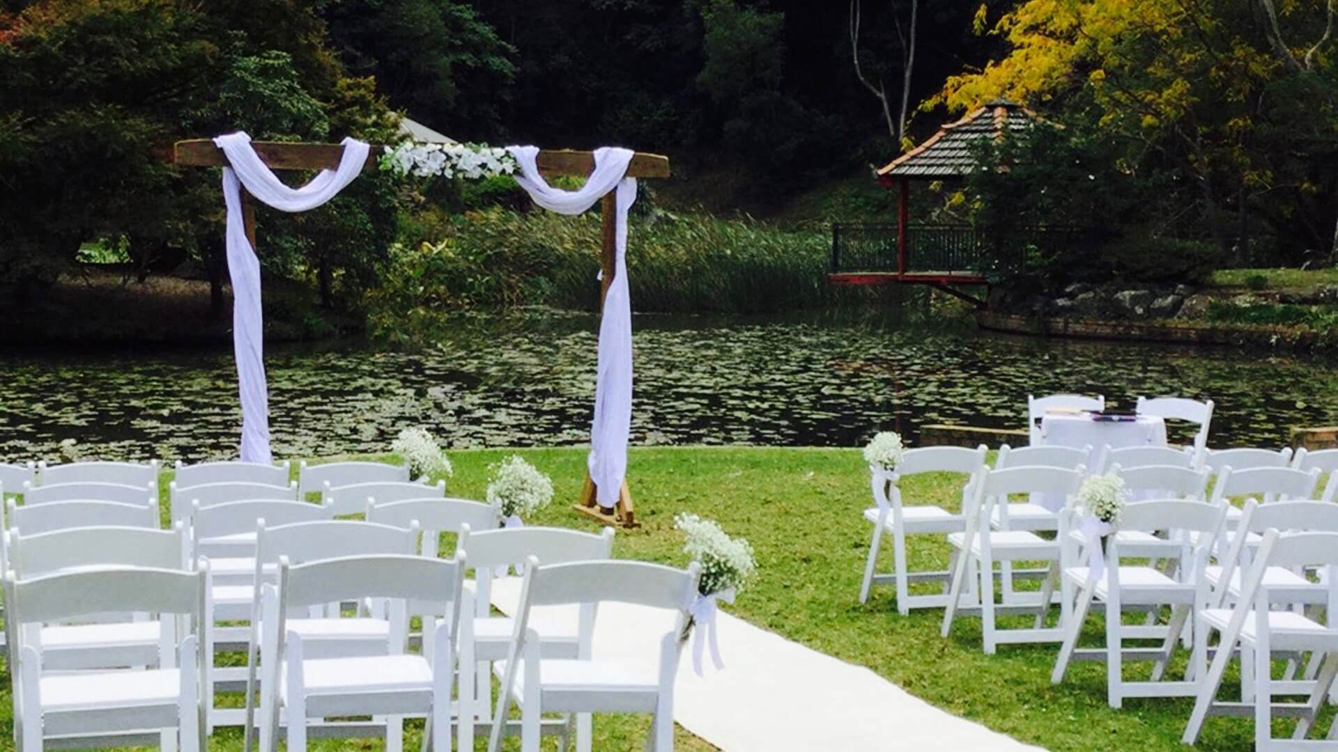 We will style every detail of your wedding