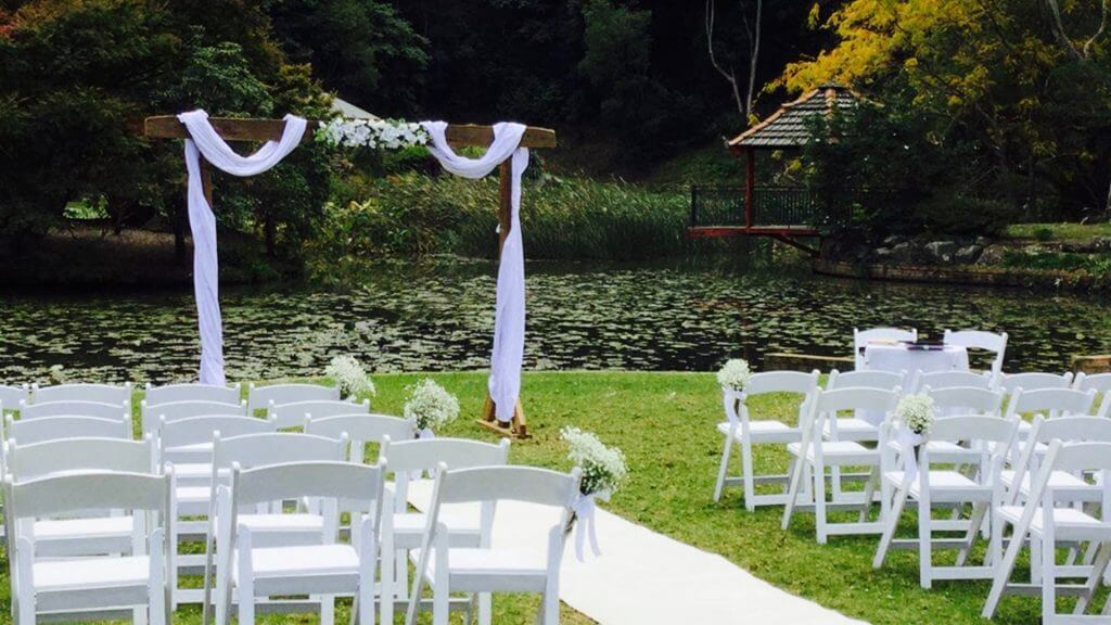 Garden Wedding Packages Stylish Outdoor Weddings No 1 Wedding Hire In Illawarra And Wollongong