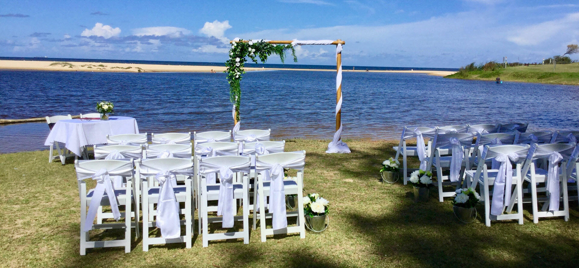 Rebecca mitchell stylish outdoor weddings no 1 wedding hire in illawarra and wollongong